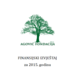 Jaarrekening van Stichting Agovic Fondacija - 2015